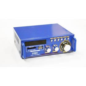 Підсилювач звуку UKC SN 3636 BT з радіо і Bluetooth