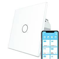 Сенсорний Wi-Fi вимикач Livolo ZigBee білий (VL-C701Z-11), фото 1