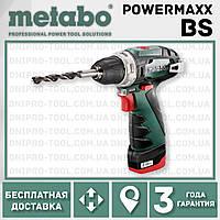 Аккумуляторная дрель-шуруповерт Metabo PowerMaxx BS (картонная коробка)