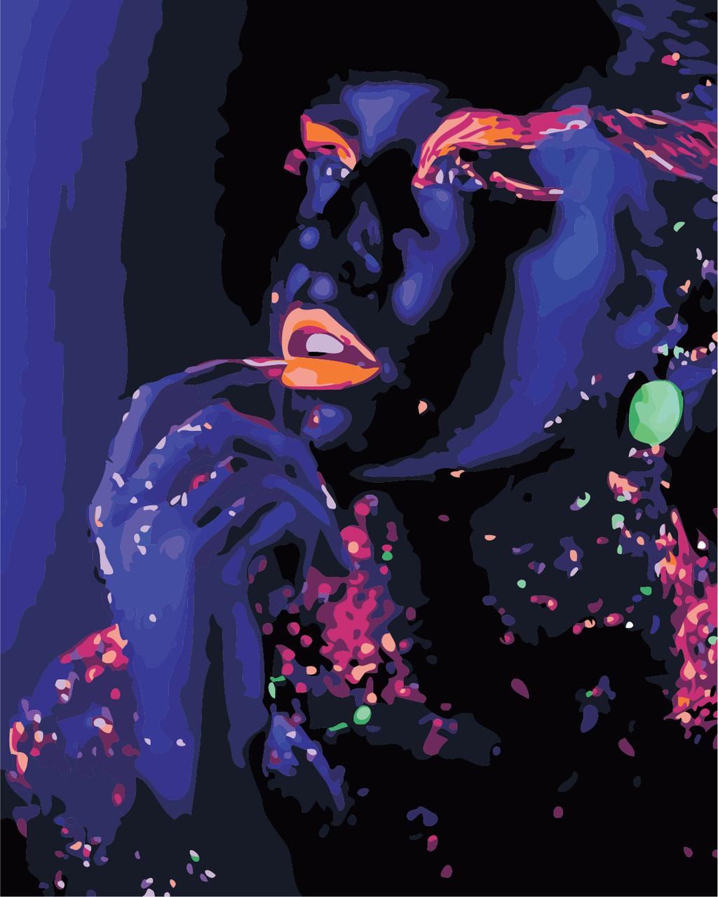 Художественный творческий набор, картина по номерам Космическая девушка, 40x50 см, «Art Story» (AS0892)