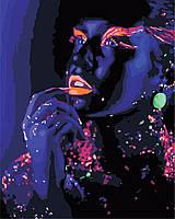 Художественный творческий набор, картина по номерам Космическая девушка, 40x50 см, «Art Story» (AS0892), фото 1