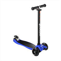 Самокат детский Best Scooter 0072R, колёса PU светятся Синий