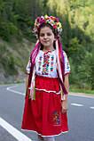 Дитячий вишитий костюм «Дрібна борщівка» - дуже гармонійне поєднання кольорів💐, фото 8