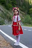 Дитячий вишитий костюм «Дрібна борщівка» - дуже гармонійне поєднання кольорів💐, фото 2