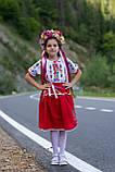 Дитячий вишитий костюм «Дрібна борщівка» - дуже гармонійне поєднання кольорів💐, фото 5