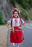 Дитячий вишитий костюм «Дрібна борщівка» - дуже гармонійне поєднання кольорів💐, фото 4