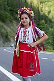 Дитячий вишитий костюм «Дрібна борщівка» - дуже гармонійне поєднання кольорів💐, фото 7