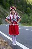 Дитячий вишитий костюм «Дрібна борщівка» - дуже гармонійне поєднання кольорів💐, фото 6