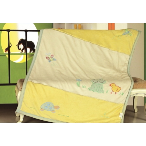 Плед детский микрофибра Le vele FROG 100х150 см