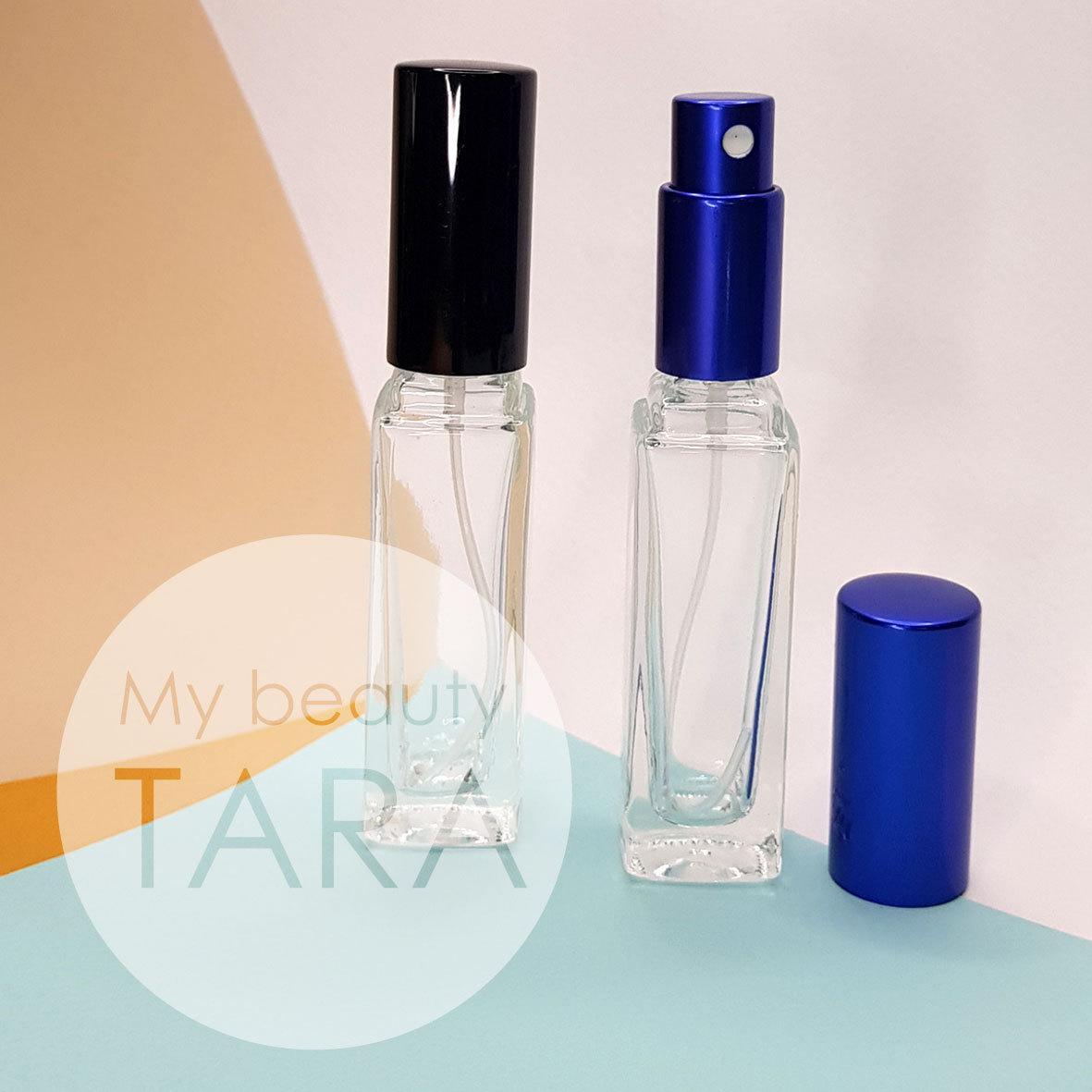 Флакон спрей 15 мл для парфюмов Делавер синий