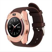 Умные часы Smart Watch V8 brown