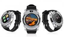 Розумні годинник Smart Watch V8 silver