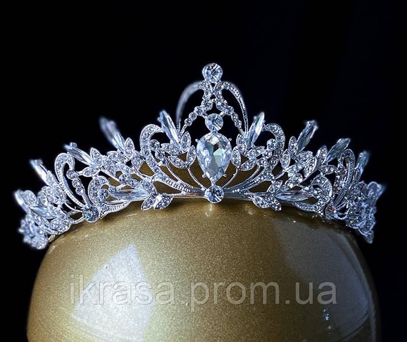Sebastiana - не висока обруч - діадема (5cm) підійде і для дорослого, і для дитини, корона півколом