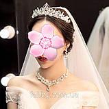 Sebastiana - не висока обруч - діадема (5cm) підійде і для дорослого, і для дитини, корона півколом, фото 7
