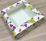Коробка для пакування зефіру 200*200*70, фото 2