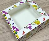 Коробка для пакування зефіру 200*200*70, фото 4