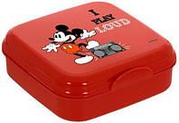 Ланч-бокс Herevin Disney Mickey Mouse 15х15х5см пластик UK-161456-012
