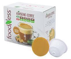 Кофе в капсулах FoodNess Dolce Gusto Ginseng Coffee with Lemon 10 шт. (Фуднес Дольче Густо), Италия