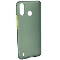 Чехол Fiji Mat Air Bamp для Tecno Spark 4 Lite силикон матовый Green