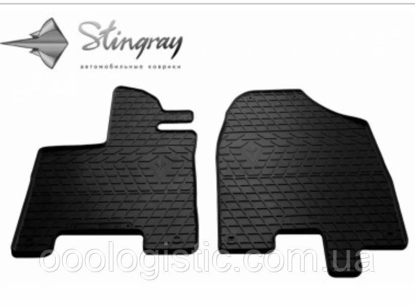 Автоковрики на Acura MDX (YD3) 2013-Stingray резиновые 2 штуки на передние сидения