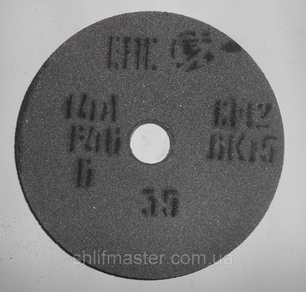 Круг шлифовальный электрокорунд серый керамика 14А ПП 175х25х32 40 СМ/F40 K