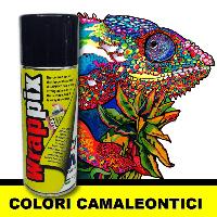 Жидкая пленка цвет хамелеон Wrappix Аerosol Chameleon 400 ml, Blue Violet