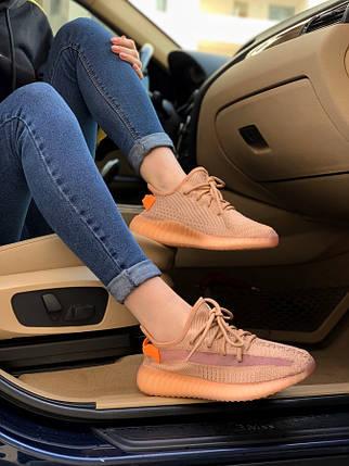 Женские кроссовки Adidas Yeezy Boost 350 V2 citrin 37.0 (23.5см.), фото 2