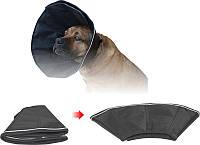 Комір щільний для живота тварин на липучці 3 15,5 см*32-38см