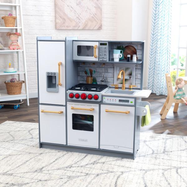 Дитяча кухня Uptown Elite KidKraft 53437 з системою легкого збору EZ Kraft Assembly