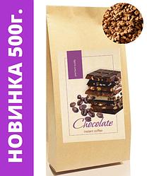 """Кофе растворимый ароматизированный Шоколад ,500 г. ТМ """"Premium Quality"""""""