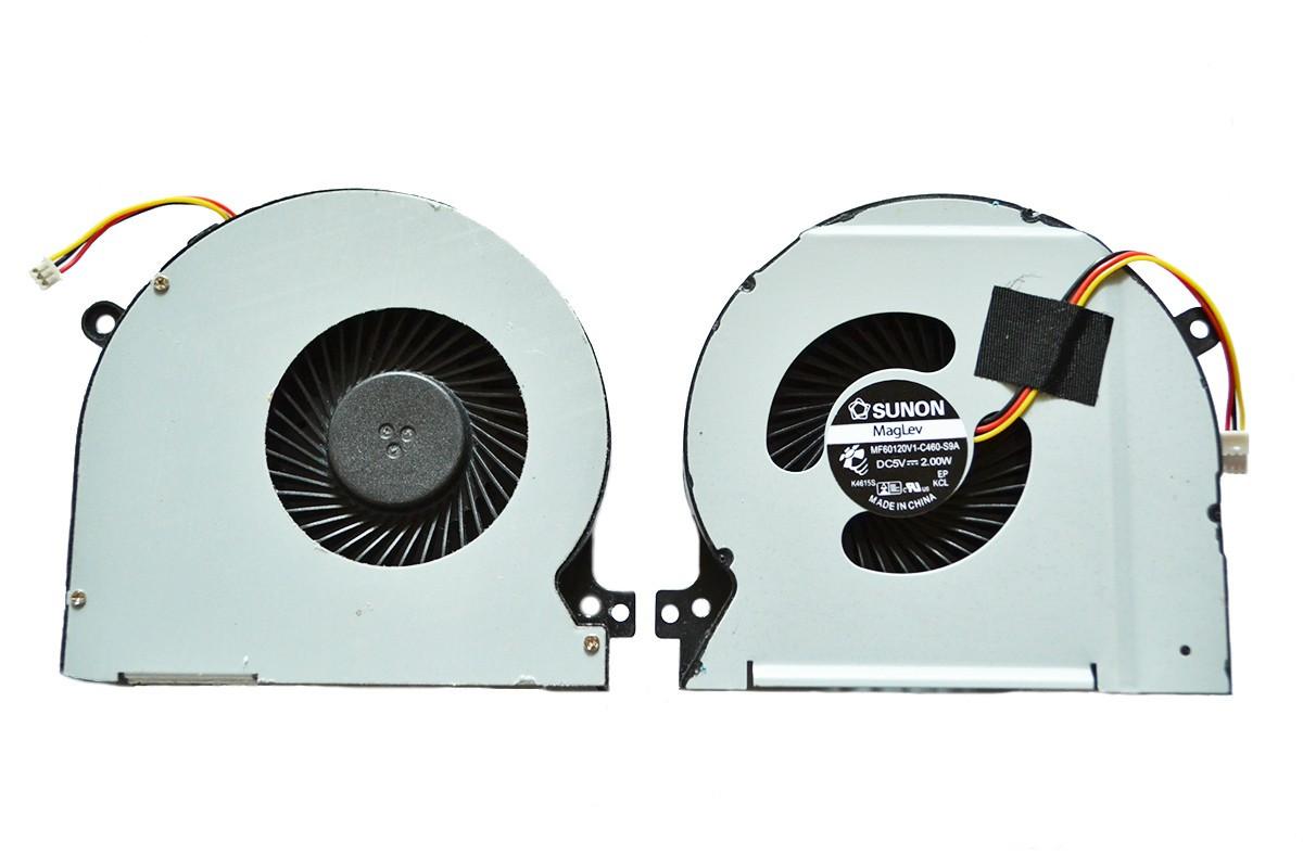 Вентилятор Dell XPS 15 L501X Original 3 pin (DFS601305FQ0T F98S)