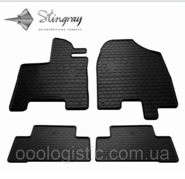 Автоковрики на Acura MDX (YD3 ) от 2013 года Stingray резиновые 4 штуки