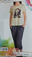 Жіночі домашні комплекти футболка та капри