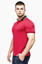 Футболка Поло Braggart мужская - 6285 красный цвет