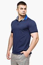 Футболка Поло Braggart мужская - 6285 темно-синий цвет