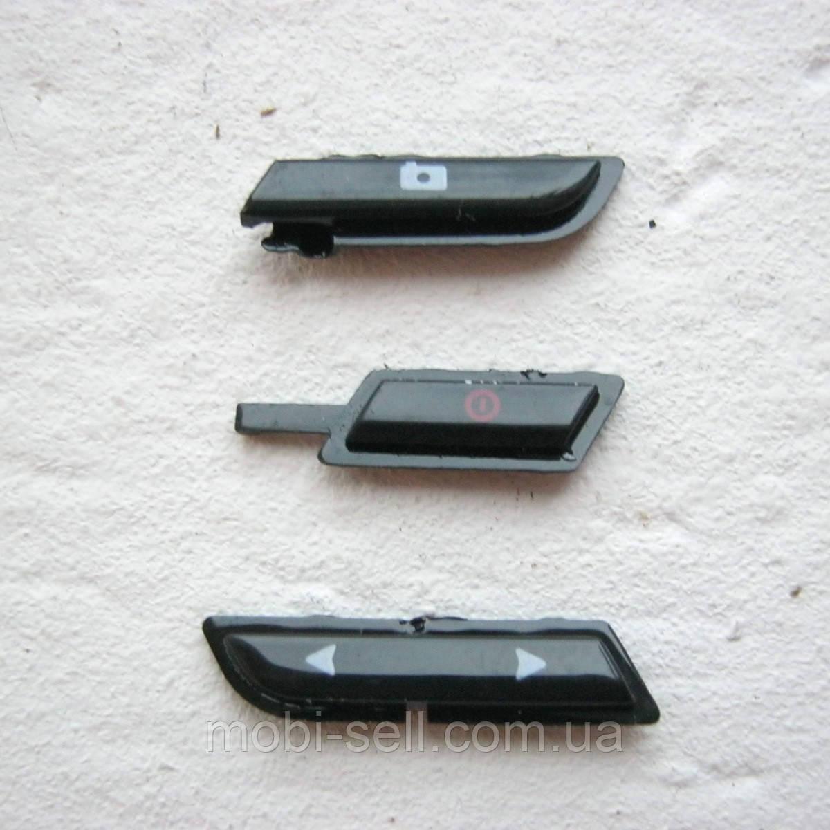 Nokia 6131 кнопки фото, громкости, включения, черные  (Б/У, оригинал, снято с разборки)