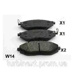 Тормозные колодки передние CHEVROLET Spark 10-
