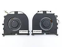Вентилятор (кулер) для DELL XPS 15 9530, Precision M3800 (02PH36, 0H98CT, DFS501105PQ0T, FCGW, FCAW) (CPU +