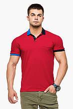 Футболка Поло Braggart мужская - 6990 красный цвет