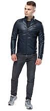 Темно-синя куртка молодіжна чоловіча осінньо-весняна модель 36361