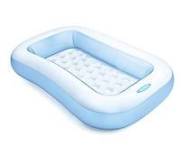 Детский надувной прямоугольный  бассейн с надувным дном  Intex 57403NP
