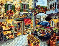 Картина рисование по номерам Brushme Домашний ресторанчик GX7091 40х50см набор для росписи, краски, кисти