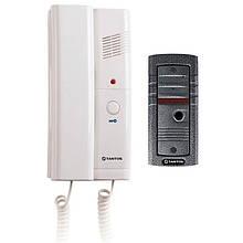 Tantos TS-203Kit аудиодомофон - комплект аудио домофон и вызывная панель Тантос ТС-203 кит