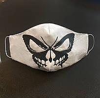 Защитная маска для лица Butterfly Белый