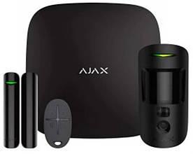 Комплект охоронної сигналізації Ajax StarterKit Cam Black (16582.42.BL1/20291.58.bl1)