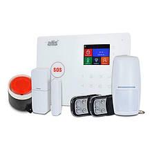 Комплект бездротової GSM і Wi-Fi сигналізації ATIS Kit GSM+WiFi 130T з підтримкою програми Tuya Smart