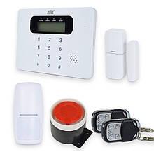 Комплект бездротової GSM сигналізації ATIS Kit GSM 100 з вбудованою клавіатурою