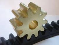 Рейка зубчатая металлическая оцынкованая ROA 8., фото 2