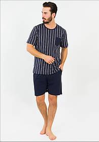 Легкая мужская пижама с шортами