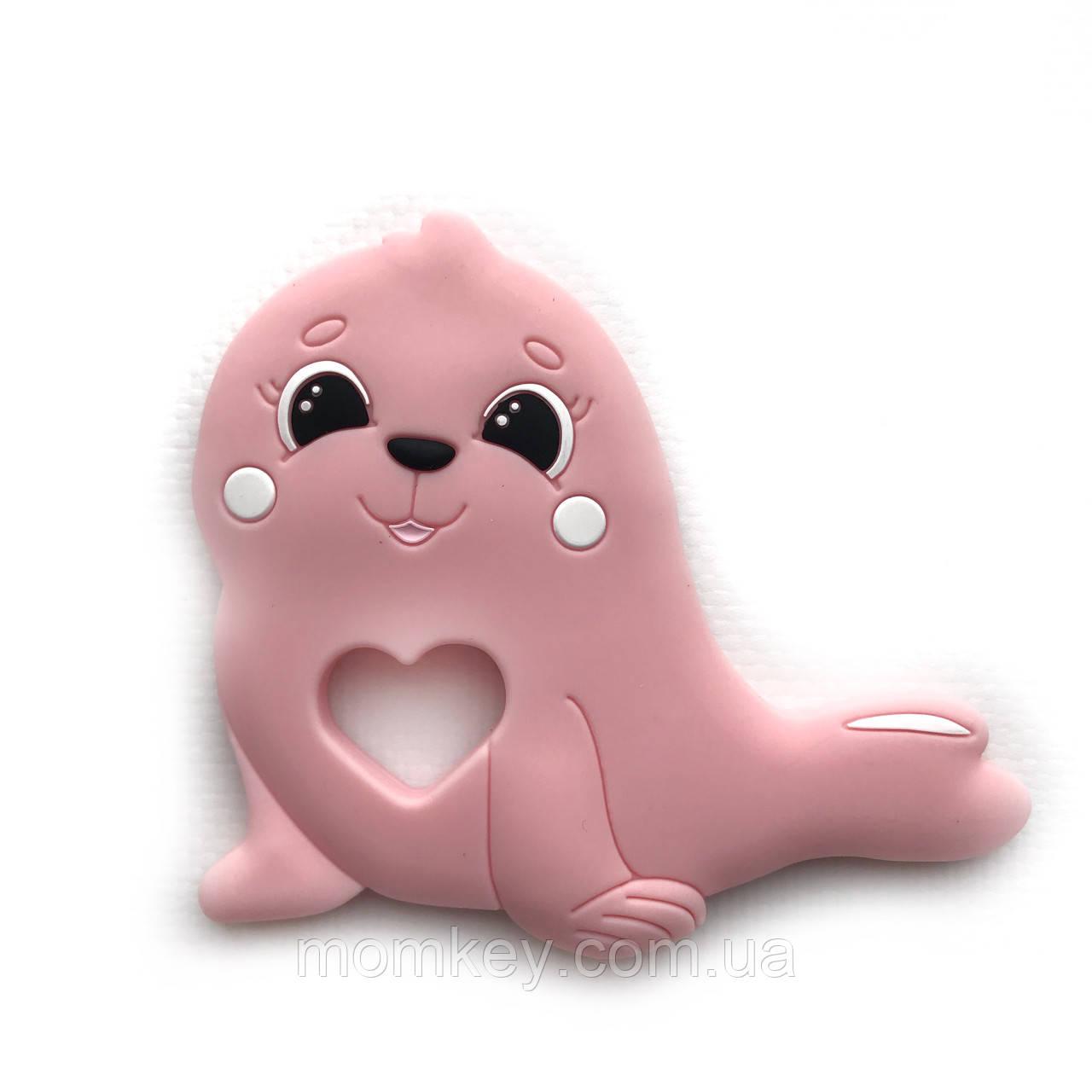 Тюлень (рожевий кварц)